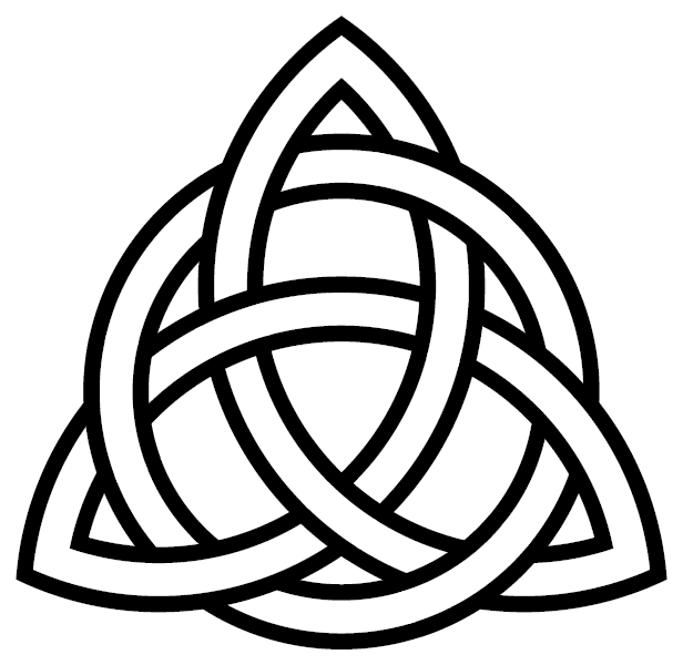 eternity buddhist triquetra-circle-interlaced